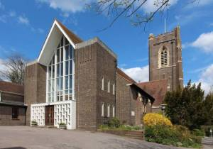 Narthex completed 1964