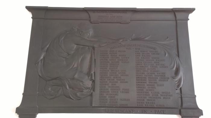 1914-18 War Memorial - click to enlarge