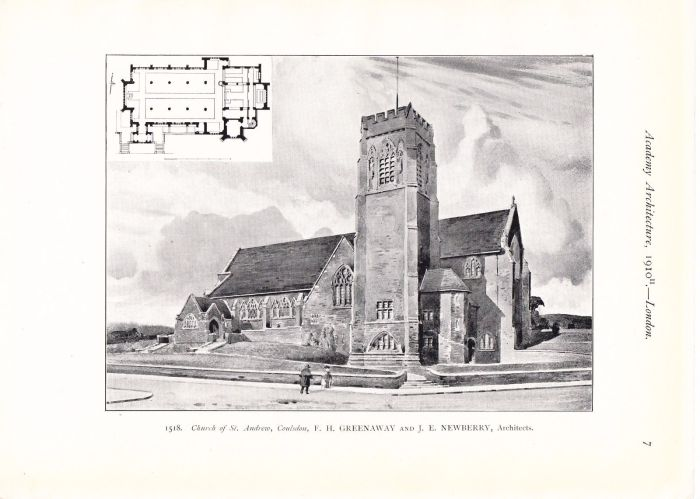 Architectural drawing St Andrews