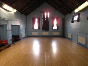 This is what St. Andrew's Chapel looks like now (Harriers Hall)