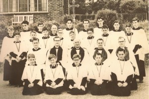 St. Andrew's Choir Rev Robb