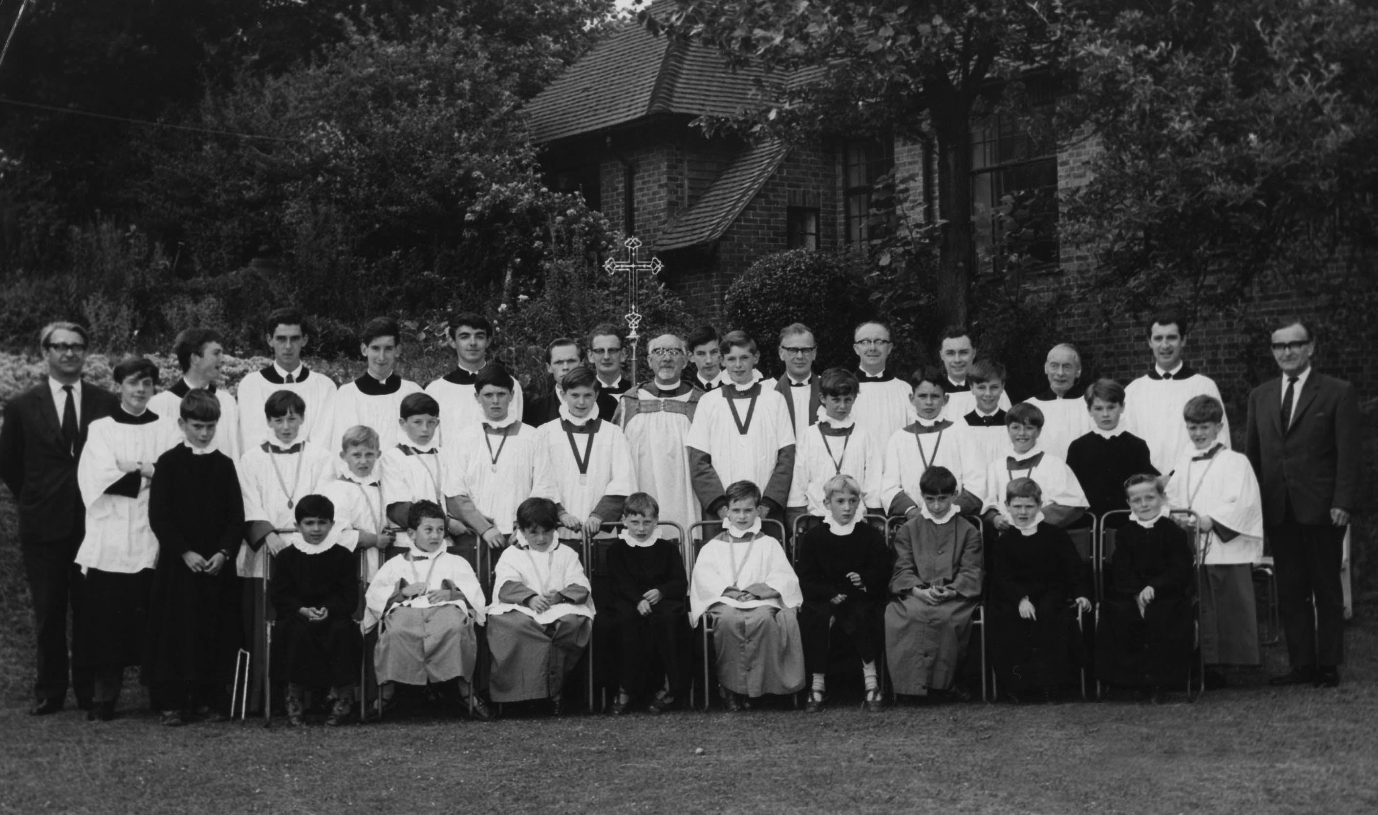Boys and men choir 1966
