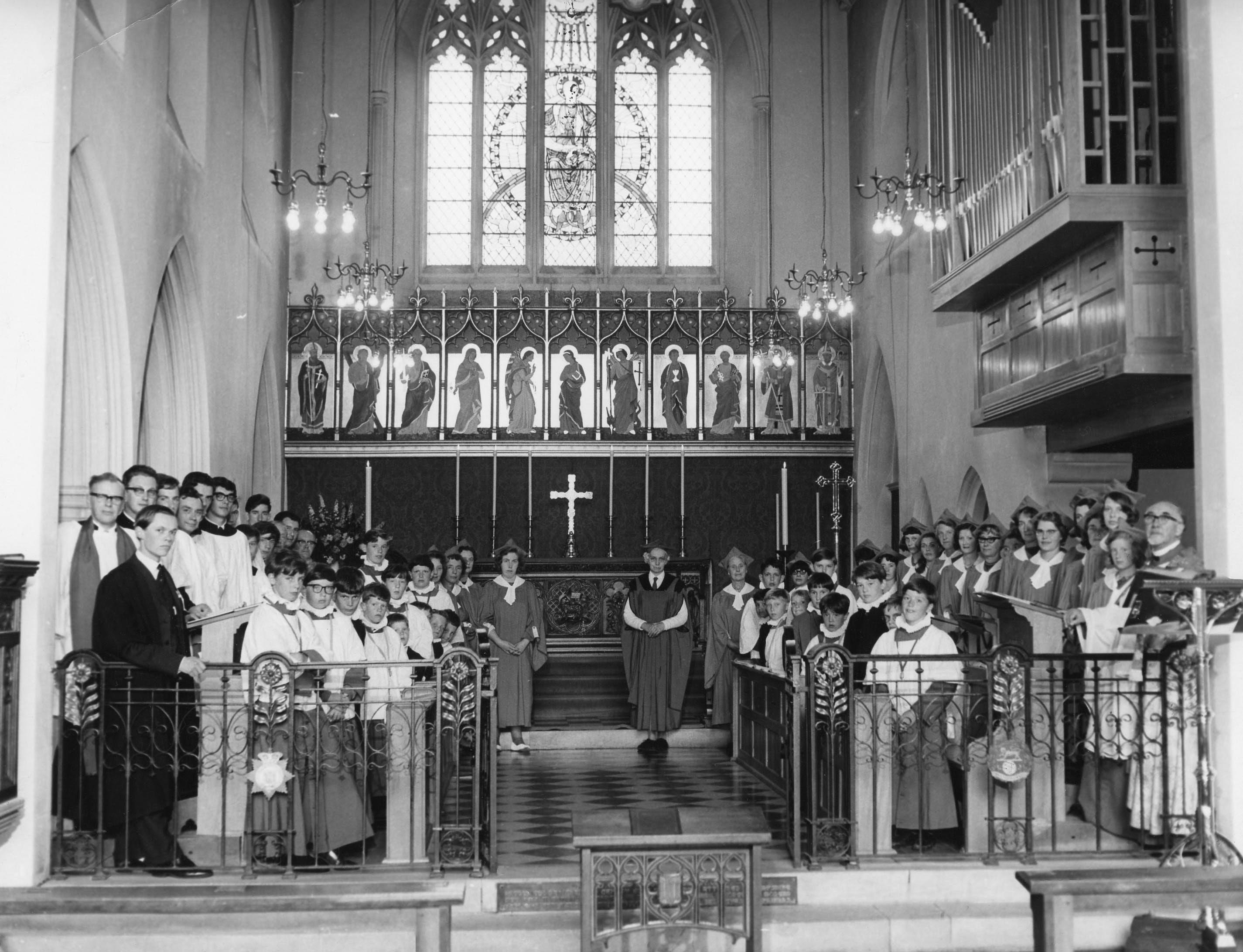 Full Choirstalls 1966