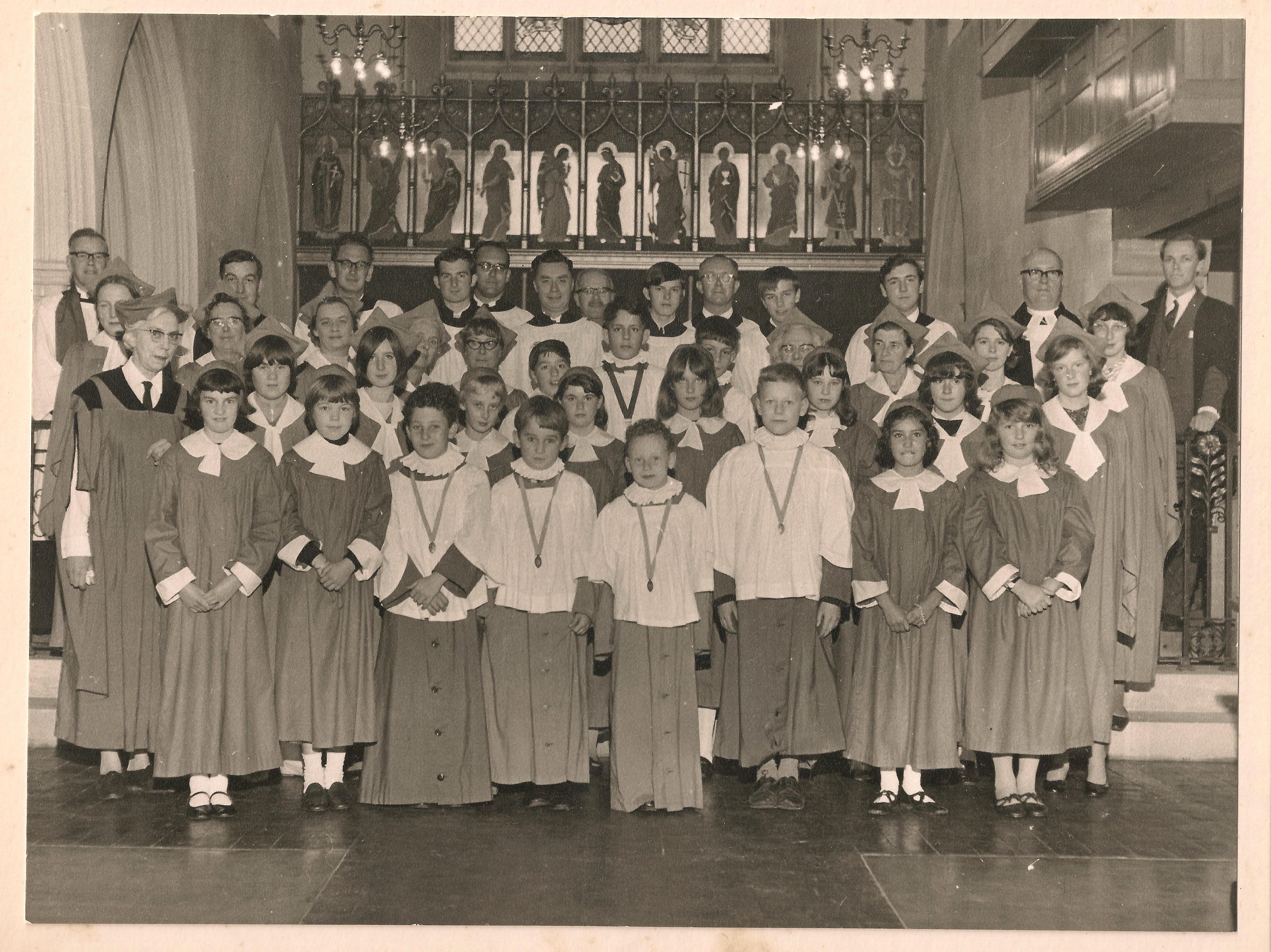 St Andrews Choir Ian le Grice