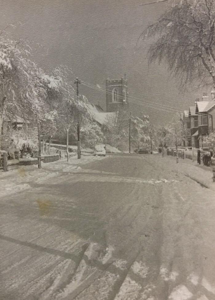 1962 Snow Scene
